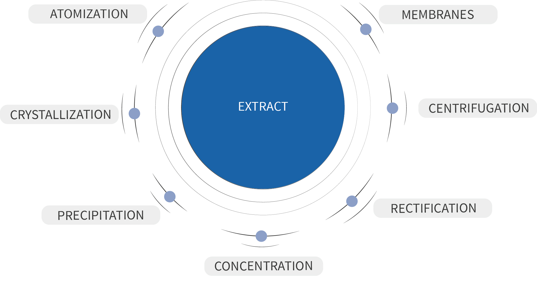 Plant extraction - Berkem - Extraction végétale